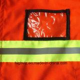 Revestimento reflexivo de alta qualidade para trabalhadores da limpeza (C2402)