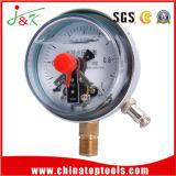 Qualité électrique de /Manometer Gaugewith d'indicateur de pression de contact !