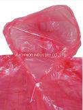 Выполненное на заказ печатание логоса выдвиженческая пластичная плащпалата дождя устранимая