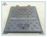 couverture de trou d'homme B125 malléable d'en 124 de fer de 450X450mm