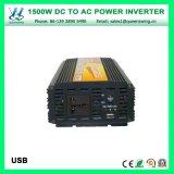 DC48V 1500W AC220/240Vのマイクロ修正された正弦波力インバーター(QW-M1500)