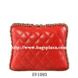 Bagsplaza New Ling Plaid Chain Evening Bags, Double Shape pour You Choice