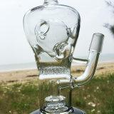 De nieuwe Fabelachtige Waterpijpen van de Waterpijp van het Glas van Eieren Fab Rokende (S-GB-255)