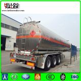 Del petróleo del tanque semi del acoplado 45000L del petróleo del combustible del petrolero acoplado de acero crudo semi