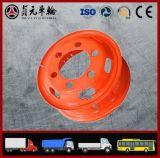 管のトラック、バス、トレーラー(8.00V-20 8.50-20 9.00V-20)のための鋼鉄車輪の縁
