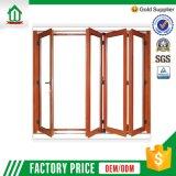 Puerta de plegamiento de aluminio de la sala de estar del diseño