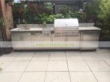 Cucina esterna lineare dell'acciaio inossidabile 304 con il BBQ (WH-D423)