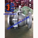 Valvola a sfera d'acciaio forgiata industriale del perno di articolazione della flangia di API/DIN