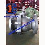 Le tourillon industriel de bride d'API/DIN a modifié le robinet à tournant sphérique en acier