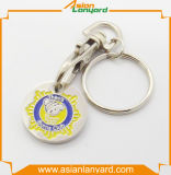 Moneta di plastica Keyholder del carrello di vendita calda