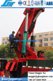 De achter Kraan van het Gewricht van Benen Telescopische Vrachtwagen Opgezette