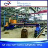 Плазма CNC Gantry и автомат для резки кислорода для стали Kr-Pl нержавеющей стали и углерода