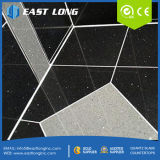 30*60cm polierten weißes/Schwarzes/Gelb/graue Quarz-Stein-Fliesen für Bodenbelag