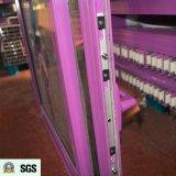 Ventana de desplazamiento de aluminio del perfil Non-Thermal revestido del polvo K01068