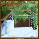 ステンレス鋼のポーチの柵の手すりの棒の屋外の柵(SJ-H1741)
