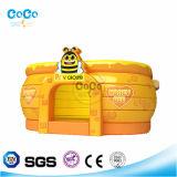 De Opblaasbare Uitsmijter LG9026 van het Thema van de Bij van de Honing van het Ontwerp van Cocowater