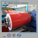Ral5020 Prepainted a bobina de aço galvanizada com ISO9001