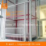 Warehouse Stationary Hydraulic Guide Elevador de carga ferroviária (SJD2-12C-2)