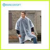 Transparentes UNISEXPET wegwerfbarer Regen-Mantel