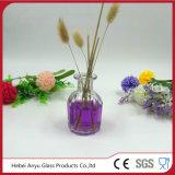 50ml Bouteille à cristaux liquides en verre rond en cristal