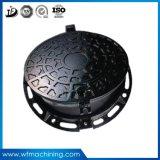 Coperchi di botola rotondi della guarnizione del ferro duttile doppi per il coperchio dello scolo del metallo