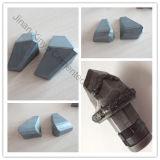 Yg8 Yg10の構築のツールは炭化タングステンの盾のカッターの歯をセメントで接合していた