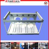 Zoll-Schnitt-Metallaluminiumblech-Kasten