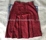 Verwendete Kleidung des koreanischen Art-Form Chilffon Kleides für afrikanischen Markt (FCD-002)