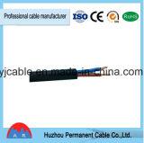 A fábrica fêz a cabo distribuidor de corrente de borracha flexível 2.5 de H07rn-F 3X1.5mm2 milímetros quadrados de cabo de controle