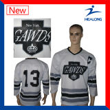 Healong Farbe sublimiertes umschaltbares Hockey Jersey