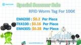 MODIFICA degli scomparti a ruote modifica passiva RFID dello scomparto residuo della soluzione EM4305 RFID del bagaglio