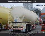3 Aanhangwagen van de Tank van het Cement van de as de Bulk met As Fuwa en Dieselmotor
