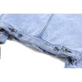 Revestimento azul de Nonmainstream da forma da fita da cor para a roupa do homem
