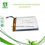 Bateria 053048 3.7V 700mAh 800mAh do polímero do lítio