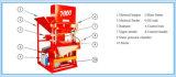 Machine de verrouillage de brique Thaïlande de saleté automatique d'Eco Mater 7000