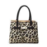 Donne che incantano il sacchetto di Tote classico di modo della stampa del leopardo (MBNO040017)