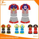 Uniforme del rugbi de Jersey del rugbi de los hombres de encargo de Healong