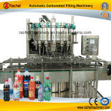 Remplissage de l'eau carbonatée