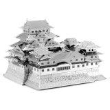 DIY obstrui o brinquedo do enigma do castelo 3D de Himeji