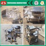 Máquina inoxidável da imprensa de filtro da placa do coco 2016 pequeno & do petróleo do frame