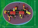 A série do controle de incêndio caçoa os jogos HD-069A dos campo de jogos