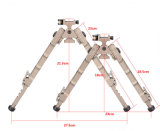 Riflescope Sr-5 Quick Detach Bipod for Hunting