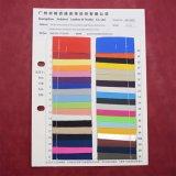 Matt-Oberflächenwärme-Presse Firmenzeichen gedrucktes synthetisches PU-Beutel-Leder