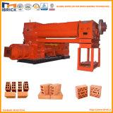 Lehm-Vollziegel, der Maschine herstellt