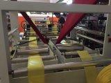 Llena de basura biodegradable automático de tela de la camiseta de polietileno Bolsa de la compra que hace la máquina