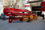 13m 15m 17m Concrete Placement Boom com 4 Wheels Trailer