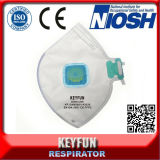 Респиратор от пыли стороны вздыхателя створки Ce En149 Fffp2 Ffp3 Niosh N95 частичный