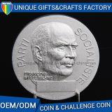 Concevoir la pièce de monnaie en alliage de zinc en métal de logo à vendre