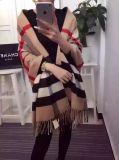 Écharpe teinte de piste de filé de laines de cachemire