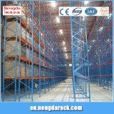 Estante resistente de acero ajustable de la paleta para el sistema industrial